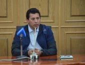 وزير الشباب والرياضة يلتقى نواب المنوفية قبل بدء جولته بالمحافظة