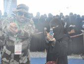 بعد القيادة.. المرأة السعودية تحارب الإرهاب بميدان الرماية والاقتحام.. صور