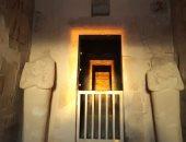 صور.. أثريون يرصدون ظاهرة تعامد الشمس على معبد حتشبسوت للعام الرابع