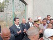 فيديو وصور .. إطلاق 21 طلقة وعزف سلام الشهيد فى وداع الرائد مصطفى عبيد بطوخ