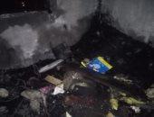 السيطرة على حريق فى شقة سكنية بشارع صلاح الدين بالإسكندرية