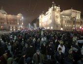 الآلاف يتظاهرون فى صربيا ضد الرئيس فوتشيتش وحزبه الحاكم