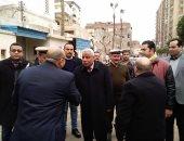 صور.. مدير أمن كفر الشيخ يتفقد الخدمات الأمنية بـ 14 كنيسة