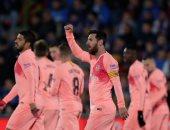 خيتافى ضد برشلونة.. البارسا ينهى الشوط الأول بنتيجة 2 - 1 .. فيديو