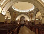 كنيسة العاصمة الإدارية تتزين  لقداس عيد الميلاد