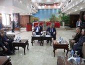 صور.. نادى القضاة يوقع مذكرة تفاهم مع جامعة حلوان