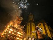 الكنائس عامرة بالمصلين حول العالم احتفالا بقداس عيد الميلاد المجيد