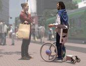 5 متسابقين يتنافسون لتطوير كرسى متحرك لذوى الإعاقة