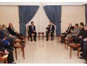 بشار الأسد يؤكد لوفد اتحاد المحامين العرب وجود مؤامرة تستهدف طمس الهوية
