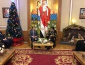 3 رسائل أمنية قوية من وزير الداخلية أثناء زيارته الكاتدرائية.. تعرف عليها