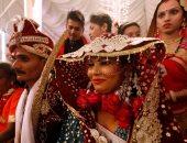 صور.. حفل زفاف جماعى للهندوس فى كراتشى