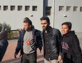 سيد عبد الحفيظ يجتمع بحسين الشحات فى الأهلي