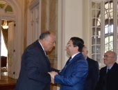 وزير الخارجية: الرؤى بين القاهرة والرباط متطابقة حول القضية الفلسطينية
