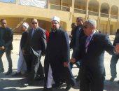 وزير الأوقاف يوجه بسرعة أعمال التطوير بمشروع خان أسوان