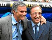 أخبار ريال مدريد اليوم عن تواصل بيريز مع جوزيه مورينيو لتدريب الملكى