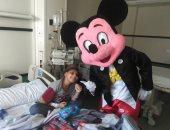طفل مريض بالسرطان يرغب فى مقابلة محمد صلاح