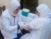 صور.. قوافل طبية لسجن طنطا لتطعيم 300 سجين