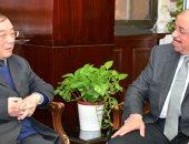 وزير التنمية المحلية يلتقى سفير الصين بالقاهرة لبحث سبل دعم أوجه التعاون بين البلدين