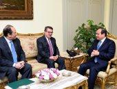 الرئيس السيسي يلتقى مدير المخابرات اليونانى لبحث التعاون الثنائي