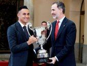 نافاس حارس ريال مدريد يفوز بجائزة أفضل رياضى فى أمريكا اللاتينية