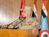الفريق محمد فريد فى لقاء القادة الجدد: الدفاع عّن الوطن مهمة مقدسة
