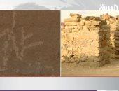 شاهد.. نقوش فرعونية مكتشفة بشمال المملكة العربية السعودية