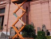 تعرف على أهم خطوات خطة تطوير المتحف المصرى بالتحرير
