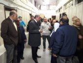 رئيس جامعة الأزهر يفاجئ مستشفى الحسين ويؤكد دعم العلاج المجانى لمحدودى الدخل