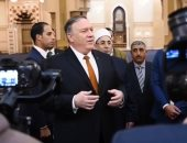 بومبيو وولي العهد السعودى يتفقان على أهمية استمرار التهدئة باليمن
