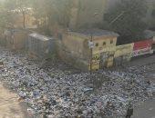 قارئ يشكو من انتشار القمامة بمساكن عين شمس بجوار المدارس