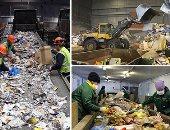 مقالب الزبالة توفر الوقود والمواد الخام لشركات الأسمنت والزجاج والبلاستيك.. 480 ألف طن شهريا منها 8 آلاف طن مخلفات صلبة توجه للمصانع.. و 5 آلاف طن وقود مصانع