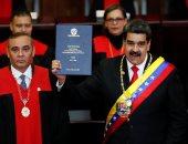 صور.. مادورو يبدأ فترة ثانية فى رئاسة فنزويلا ويتجاهل الانتقادات