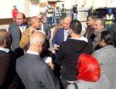محافظ القاهرة يتفقد عددا من محطات مترو المرحلة الرابعة (صور)