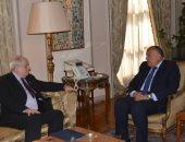 شكرى يبحث مع نائب وزير خارجية اليونان تعزيز العلاقات فى مجال الطاقة