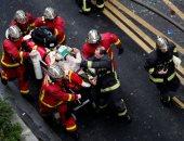 فيديو وصور.. ارتفاع حصيلة مصابى انفجار العاصمة الفرنسية إلى 36 شخصا