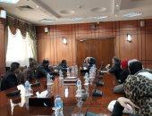 محافظ بورسعيد يناقش دور الشباب فى منظومة التحول الرقمى