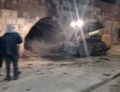نائب محافظ القاهرة: رفع مخلفات البناء والقمامة بسور مجرى العيون لتطويره