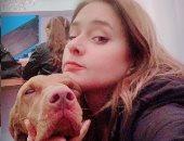 بعد شائعات ارتباطها بعمرو سلامة.. نيللى كريم تشارك جمهورها بصورة مع كلبها