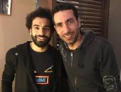 """أبو تريكة لــ""""محمد صلاح"""": مبروك عليك الكرة الذهبية.. صور"""