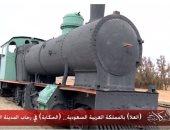 """عمرو أديب يجرى جولة بمنطقة """"العلا"""" وقطار الحجاز الأثرى"""