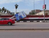 صور.. عواصف ترابية ورياح شديدة تضرب محافظة الغربية