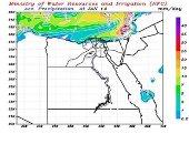 مركز التنبؤ بالفيضان: سقوط أمطار خفيفة على السواحل الشمالية حتى الثلاثاء