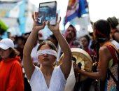 صور.. مظاهرات فى جواتيمالا ضد قرار طرد لجنة مكافحة الفساد والمطالبة باستمرارها