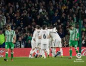 ريال مدريد يخطف فوزا قاتلا ضد بيتيس فى الدوري الإسباني.. فيديو