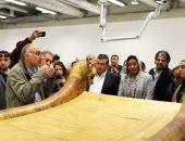 طارق توفيق:  معامل المتحف الكبير استقبلت 46 ألف قطعة ورممنا 45 ألفا