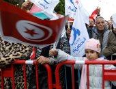صور.. إخوان تونس يستغلون ذكرى الثورة للترويج لمشروعهم قبل الانتخابات