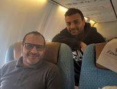 رامى صبرى فى تركيا لتسجيل أغانى ألبومه الجديد