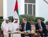 بن زايد يلتقى الرئيس الأرمينى وبان كى مون فى أسبوع أبو ظبى للاستدامة