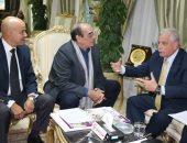 محافظ جنوب سيناء يستقبل وفد مهرجان شرم الشيخ بحضور مجدى أحمد على