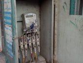 صور.. كابينة كهرباء مفتوحة تهدد حياة المواطنين بشارع قصر العينى